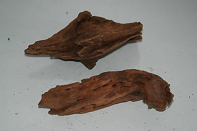 Real Aquarium Bog Wood 2 Small Pieces Roots Logs Driftwood For Aquariums BWS3G