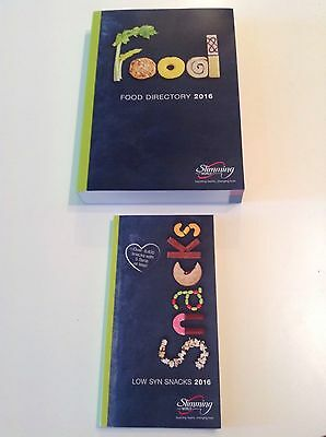 Brand NEW Slimming World 2016 Food Directory & Low Syns Snack Book