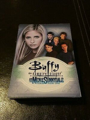 Buffy Men Of Sunnydale - Complete Set (brand New)