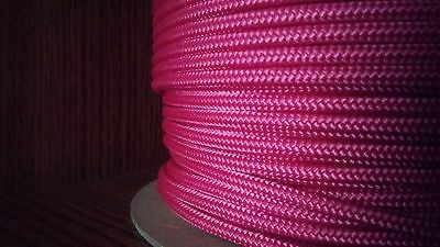 Accessory Cord//Rope Banner//Camp//Utility 700 # Bright Yellow 4 mm x 500 ft
