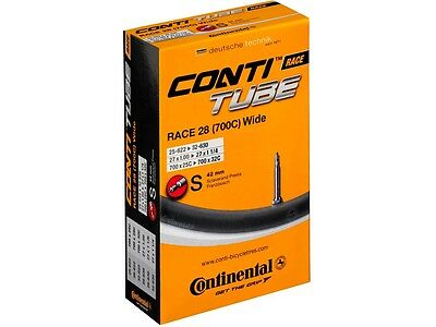 Sale! 10 x Continental Race 28 Wide Inner Tubes 700 x 25 - 32  42/60 mm Presta