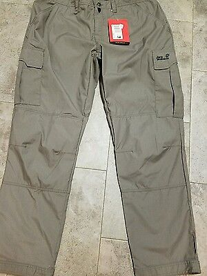 Jack Wolfskin function 65 northpants size us 41 new with tags waist 41 length 34