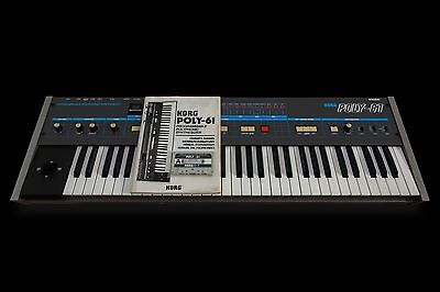 korg poly 61 Vintage Synth