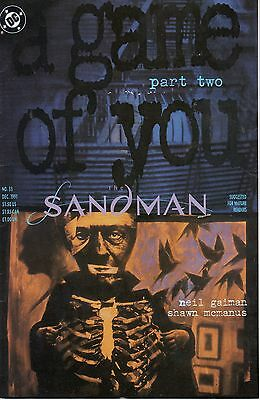 Sandman Issue 33 A Game of You