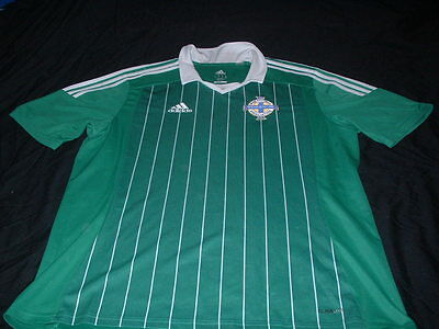 Northern Ireland Ulster Soccer Football XL Extra Large Mans Adidas Home Jersey