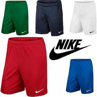 Nike JUNIOR BOYS Park II Knit Short Training Sports Football Rugby XS S M L XL