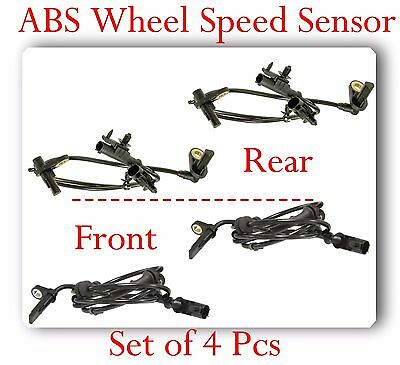 4 ABS Wheel Speed Sensor Front- Rear Left & Right Fits Infiniti FX50 G25 G35 G37