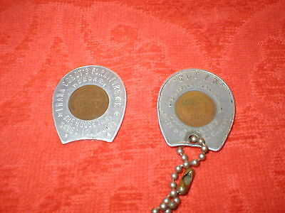 Vintage New Jersey Good Luck Tokens
