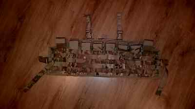 Multicam Assault panel Munitionstasche MOLLE ARMY BW Special Forces issued