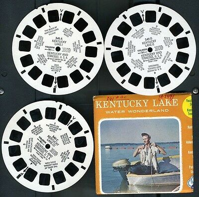 Viewmaster 341ABC (A847) Kentucky Lake Water Wonderland