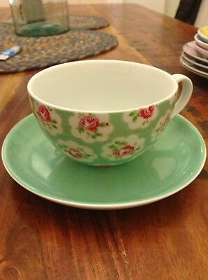 cath kidston provence rose cups and saucers