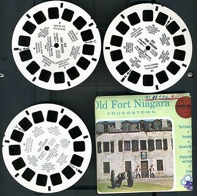 Viewmaster 83ABC (A683) Old Fort Niagara,  Youngstown
