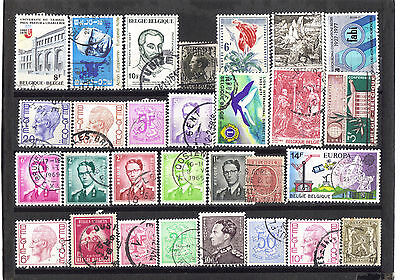 Belgium stamps good mixed selection used