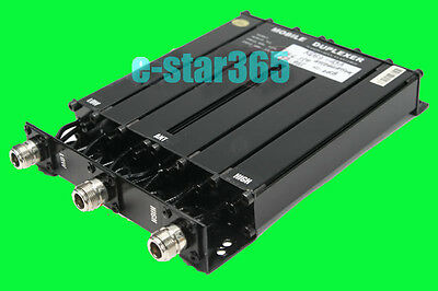 BRAND NEW UHF 6 CAVITY DUPLEXER for radio repeater N connector SQ-- 50W DUPLEXER