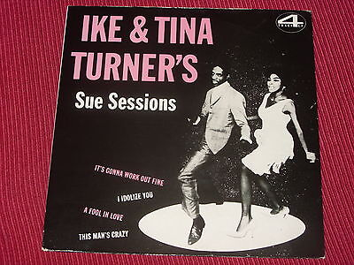 "Ike & Tina Turner's Sue Sessions   UK 1983  7""  Near Mint"