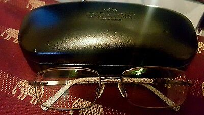 Coach Janelle Coffee Eyeglass Frame Coach Case New Cloth