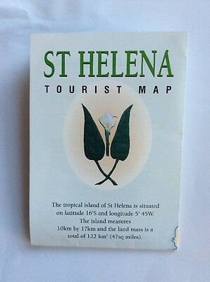 Tourist Map - St Helena by Southern Cross Ventures