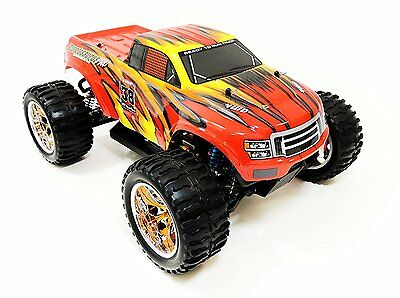 Monster Truck 1/10 Brushless Radiokontrol automodello rtr elettrico Lipo 2,4Ghz