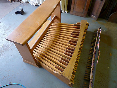 Organ Pedal board and matching bench- Hauptwerk or pipe organ