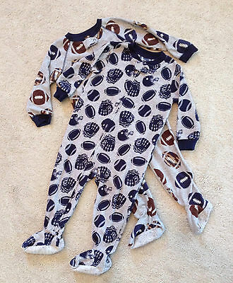 Boys Toddler 2 Footed Sleepers Football Carter's 24M
