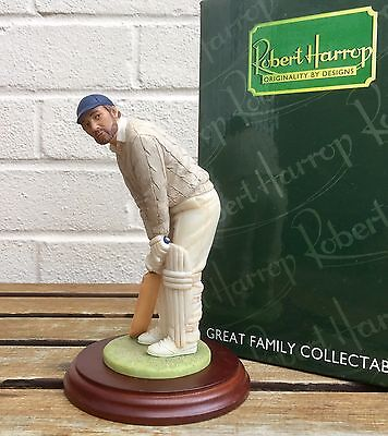 Scarce Robert Harrop -At The Crease (Cricketer)- Pp10 People Figure Model -Boxed