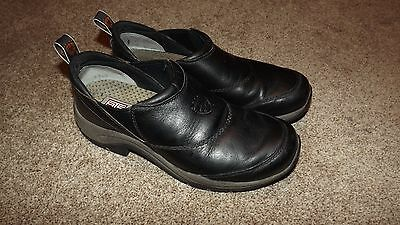 Ariat Black Leather  Equestrian Shoes  Size Uk 6