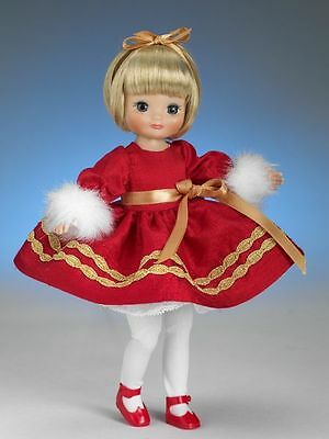 """Tiny Betsy McCall 8"""" doll ~ """" All I Want For Christmas """" Mint  ~ NRFB"""