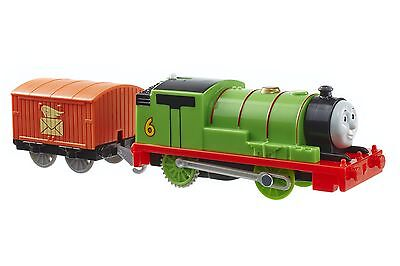 Fisher-Price Thomas The Train: TrackMaster Motorized Percy Engine with Car