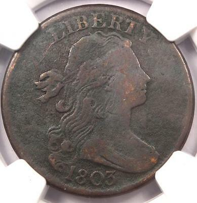 1803 Draped Bust Large Cent 1C S-258 - NGC VF Details - Rare Early Date Penny