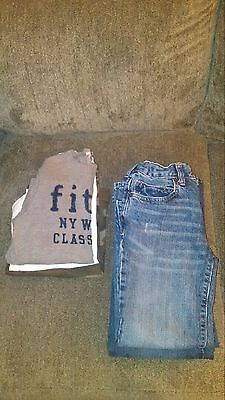 Lot Of 6 Boys Size 8 Jeans And Long Sleeve Shirts
