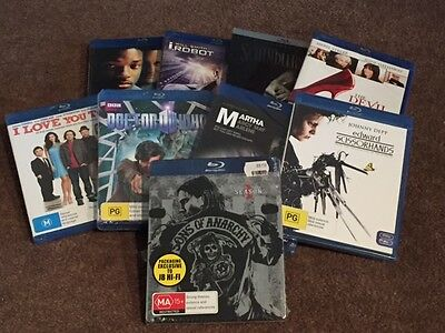 Set of 9 Blu Ray DVDs - Brand New and Sealed
