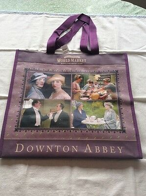 2015 Downton Abbey Highclere Castle Tote Bag Cost Plus World Market New With Tag