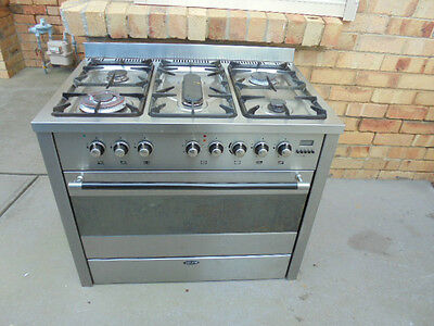 EURO Gas Upright Stove - stainless steel, 90cm ,Melbourne Pickup