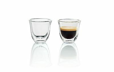 Delonghi Espresso Double Walled Glasses-Set of Two
