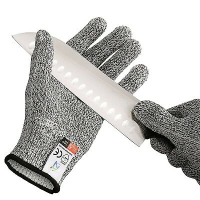 Pictek Cut Resistant Gloves Knife Cut Proof Gloves High Performance Level 5 P...