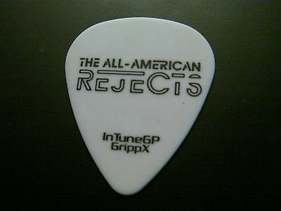 All American Rejects Phoebe authentic guitar pick