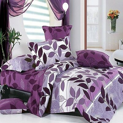 North Home - Rosemary 100% Cotton 4pc Duvet Cover Set (Queen) Queen