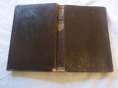 Jules Verne Round the World in Eighty Days Small Leather Book