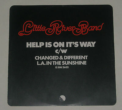 """Little River Band 12"""" Ep Help Is On It's Way Excl 1977 12Emi2632"""
