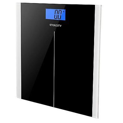 Etekcity Digital Bathroom Weight Scale 400lb/180kg Smart Step-on Tempered Glass