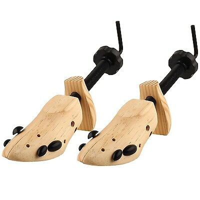 Unisex Professional 2-Way Shoe Stretcher Size 5-13 2-Way Length & Width Wood ...