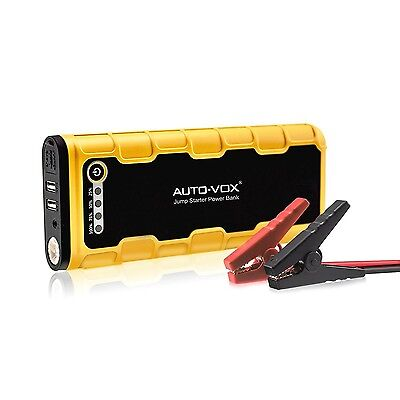 AUTO-VOX Portable Car Jump Starter P1600A Peak 18000mAh (Up to 7.5L Gas and 6...
