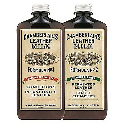 Leather Milk Conditioner + Deep Cleaner Set: Formulas No. 1 - 2 | Leather Car...
