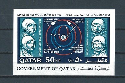 Middle East -  Qatar Quatar mnh stamp sheet - space