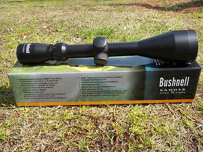 Telescope Bushnell Banner 3-12x50 Optical Rifle Scope W/Two Rings-Sniper's