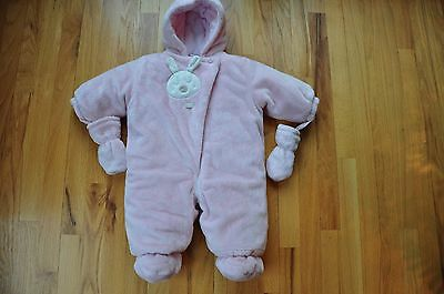 Baby Girl Size 9months Absorba Soft Pink Snow Suit