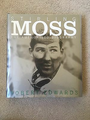 Signed Stirling Moss - The Authorised Biography 1/1 Hbk - Formula One F1