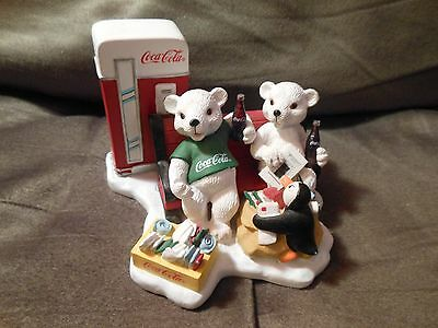 1998 Coca Cola Heritage 'Passing the Day in a Special Way' Figurine