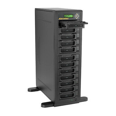 Aleratec 1:11 HDD Copy IDE SATA 11 HDD Duplicator 12 HDD Sanitizer Refurbished