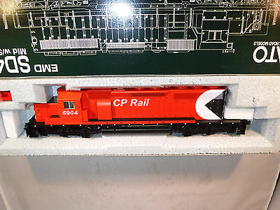 Kato HO Canadian Pacific/CP Rail EMD SD40-2 Snoot Nose Red Multi-Mark #5904